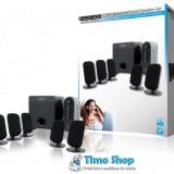 Sistem boxe multimedia 5.1 100W Konig CMP-SPSU100, Sistem 5.1