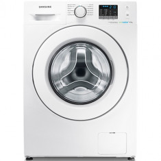 Masina de spalat rufe SLIM Samsung Eco Bubble WF60F4E5W2W, 6 kg, A++