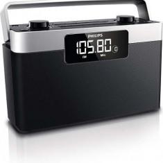 Radio portabil Philips AE2430/12, Afişaj LCD, 1 W RMS, stereo, Digital