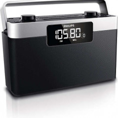 Radio portabil Philips AE2430/12, Afişaj LCD, 1 W RMS, stereo - Aparat radio Philips, Digital