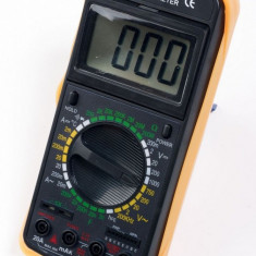 Aparat De Masura -- Multimetru Digital Profesional DT-9208A Carcasa Antisoc - Multimetre