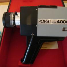 Camera video vintage PORST reflex 4000 super 8