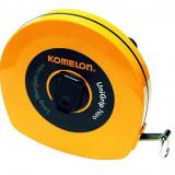 Ruleta 30 m cu banda fibra sticla KOMELON 10334 - Ruleta masura
