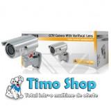 Camera de supraveghere cu lentile varifocal Konig SEC-CAM750 - Camera CCTV