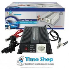 Invertor de tensiune 600w 24v HQ-INV600C/24 - Invertor curent