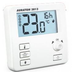 Termostat cu fir Auraton 3013, 0 – 45°C, LCD