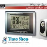 Statie meteo wireless interior si exterior Konig KN-WS400