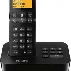 Telefon fara fir cu robot telefonic Philips D2151B/53, 550 mAh, GAP - Telefon fix