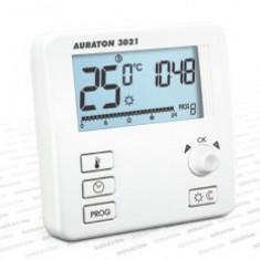 Termostat pentru incalzirea prin pardoseala Auraton 3021 R, 0 – 45 ° C, 16A