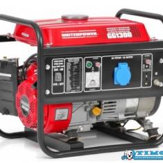 Generator de curent Hecht GG 1300, 2, 4 CP, 1100 W - Generator curent Hecht, Generatoare uz general