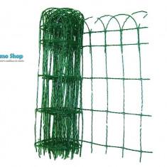 Plasa gard cu acoperire PVC 1.25 X 25 M