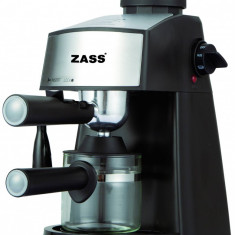 Espressor Zass ZEM 06, 800 W, 3.5 bari, 2-4 cesti, Automat