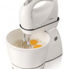 Mixer cu castron rotativ Philips HR1565/40, 350w, alb - Mixere