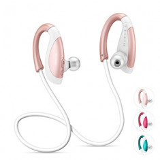 Casti Bluetooth 4.1 Yoobao YBL-110 Rose Gold, Casti In Ear, Active Noise Cancelling