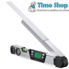 Nivela electronica pentru masurat unghiuri ArcoMaster 400 mm 075.130A - Nivela laser cu linii