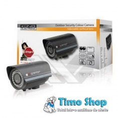 Camera CCTV profesionala in carcasa ermetica (IP65) Konig SEC-CAM35B
