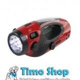 Lanterna cu dinam multifunctionala Konig TORCH-EMC-02