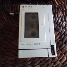 Reportofon dictafon vintage SANYO TRC 2000 - Casetofon