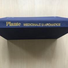 PLANTE MEDICINALE SI AROMATICE - A. Laza, G. Racz 1975 - Carte tratamente naturiste