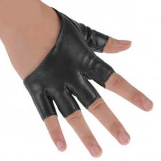 Manusi dama culoare neagra pentru condus - marimea S - M - Manusi moto, Marime: S, Vara