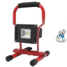 Reflector LED portabil, resarjabil, 10W, comutator cu 2 pozitii 8106H - Intrerupator