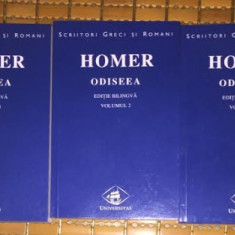 Odiseea ed. bilingva romana-greaca / Homer 3 volume - Carte poezie