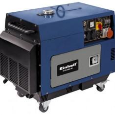 Generator pe curent Einhell BT-PG 5000 DD Diesel - Generator curent Einhell, Generatoare uz general
