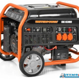 Generator de curent pornire electrica Hecht GG 6380 - Generator curent Hecht, Generatoare uz general