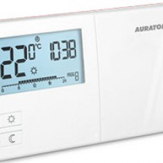 Termostat cu fir Auraton 2025, 0 – 45°C, LCD, 8A