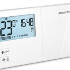 Termostat cu fir Auraton 2030, 0 – 35°C, 8A, 868 MHz