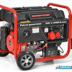 Generator de curent pornire electrica Hecht GG 7300, 14 CP, 6300 W - Generator curent