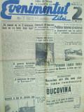 Evenimentul zilei 18 iulie 1941 Bucovina ziar Husi Antonescu Stalin tanc Vinea