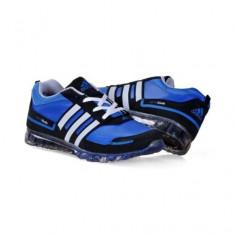 Adidas SpringBlade - Adidasi barbati, Marime: 40, 41, 42, 43, 44, Culoare: Albastru, Piele sintetica