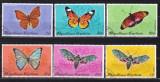 Togo  1970  fauna  fluturi  MI 820-825  stampilat  w38