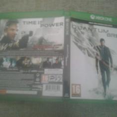 Quantum Break - Joc XBOX ONE - Jocuri Xbox One, Actiune, 16+, Single player