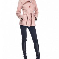 Palton Andrada - Marimi 44, 46 - Roz - Palton dama Raspberry