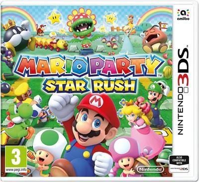 Mario Party Star Rush Nintendo 3Ds foto