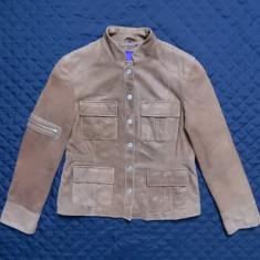Geaca piele naturala Rino & Pelle Leather Design in Italy; marime 44; ca noua - Geaca dama, Culoare: Din imagine