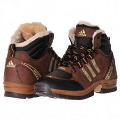 Ghete Adidas Outdoor - Ghete barbati Adidas, Marime: 41, 42, Culoare: Maro, Piele sintetica