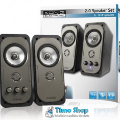 Sistem audio 2.0 Konig CMP-SP32 - Combina audio