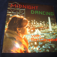Bert Campbell ‎– Midnight Dancing With Bert Campbell . vinyl, LP, Elvetia - Muzica Ambientala Altele, VINIL