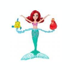 Papusa Disney Princess Ariel Spin and Swim, 2-4 ani