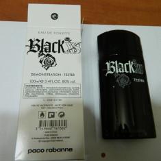PARFUM TESTER P.R BLACK XS -- 100 ML -SUPER PRET, SUPER CALITATE! - Parfum barbati Paco Rabanne, Apa de toaleta