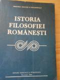 GH. AL. CAZAN--ISTORIA FILOSOFIEI ROMANESTI - 1984