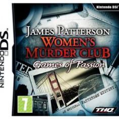 Womens Murder Club Games Of Passion Nintendo Ds - Jocuri Nintendo DS Thq