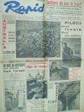Rapid 14 martie 1942 pilot pian caricatura Neagu Radulescu vanator munte Crimeea