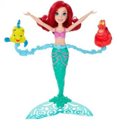 Papusa Disney Princess Ariel Spin And Swim, 2-4 ani