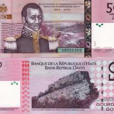 HAITI 50 gourdes 2014 UNC!!! - bancnota america