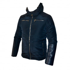 Geaca Zara Imblanita Model Toamna Iarna Cod Produs D635 - Geaca barbati, Marime: M, L, XL, Culoare: Din imagine, Piele