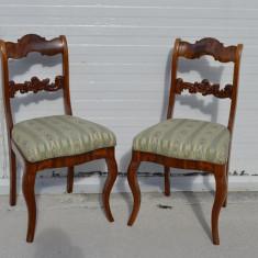 Set 2 scaune Bidermeier